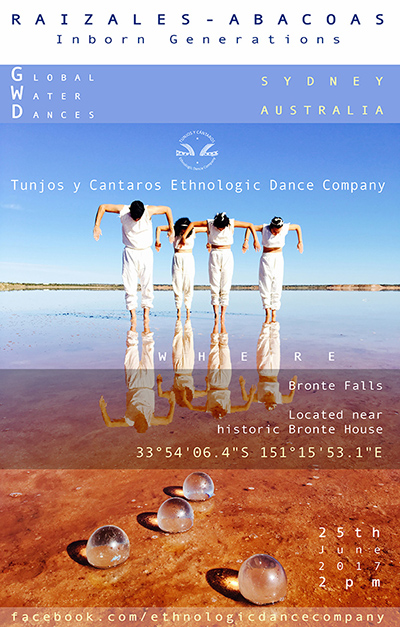 Global Water Dances flyer