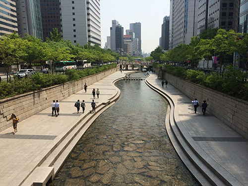 Cheonnyecheon stream